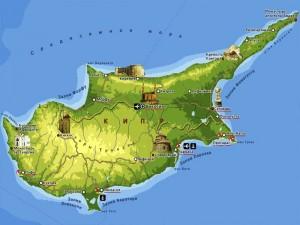 о Кипре_карта Кипра