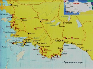 Карта Турции_ОК-ТУР