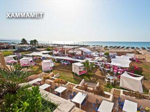 курорт Хаммамет пляжи