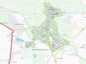 Карта Марианские Лазни