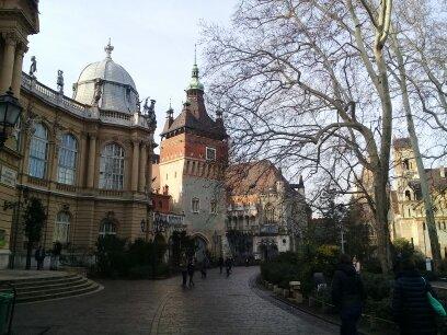 Венгрия зимние каникулы