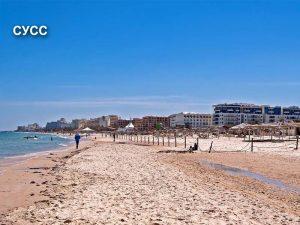 Пляж в Суссе Тунис