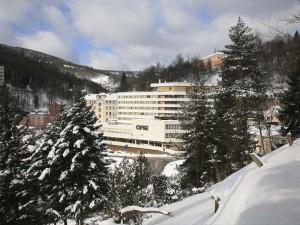 Курорт Яхимов Зимой