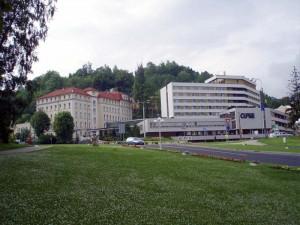 Санатории курорта Яхимов