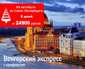 Новый год 2018 в Венгрии Будапешт