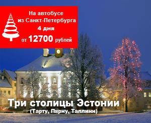 В эстонию на Новый Год 2018