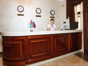 """отдых в отеле """"Вилла Виктория"""" Гудаута"""