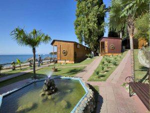 курортный комплекс Камарит в Новом Афоне